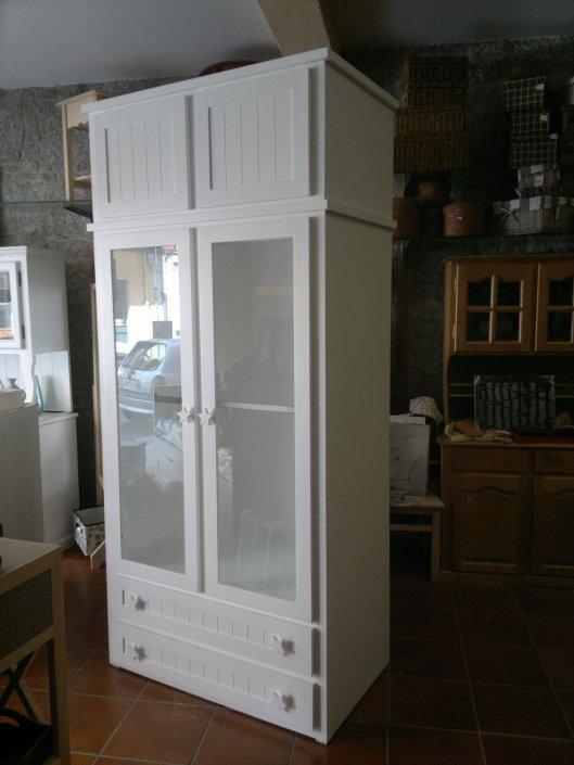 armario con altillo