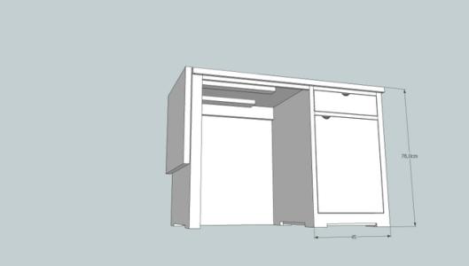 escritorio leticia plegado