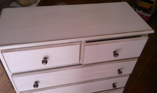 Mueble en crudo muebles artesa - Pintura blanco roto ...