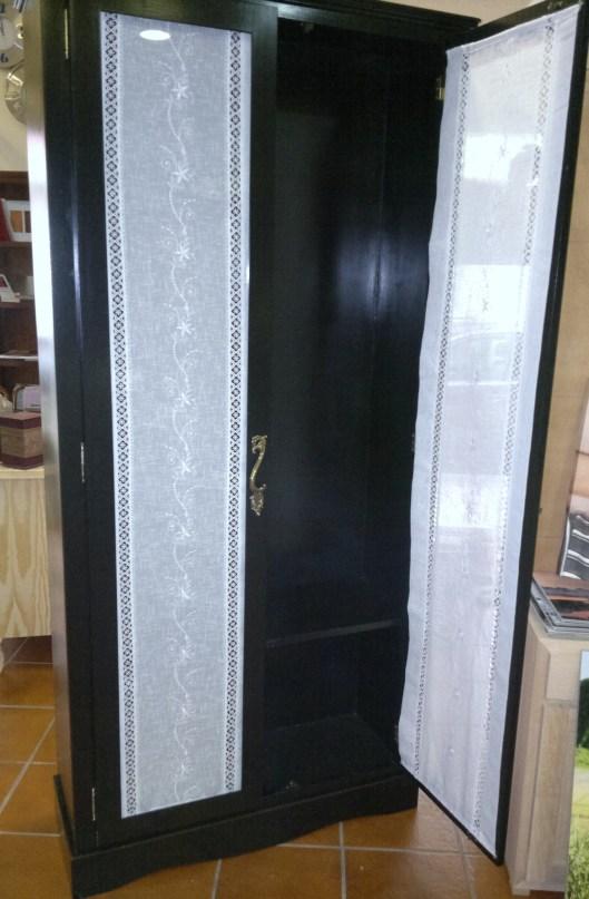 Cortina puerta de armario