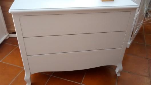 Mueble de baño , proceso de pintado