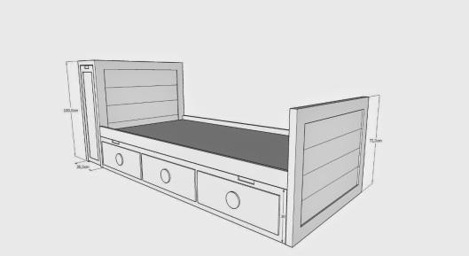 Muebles artesa blog de la tienda artesa de vilagarc a for Cama nido con cajones blanca