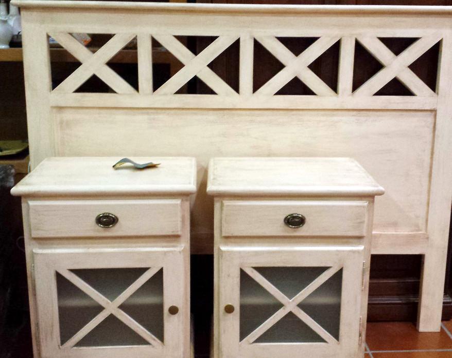 Pintar muebles de madera en blanco envejecido finest c - Muebles blanco envejecido ...
