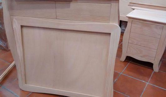 Patina muebles artesa for Espejo blanco envejecido