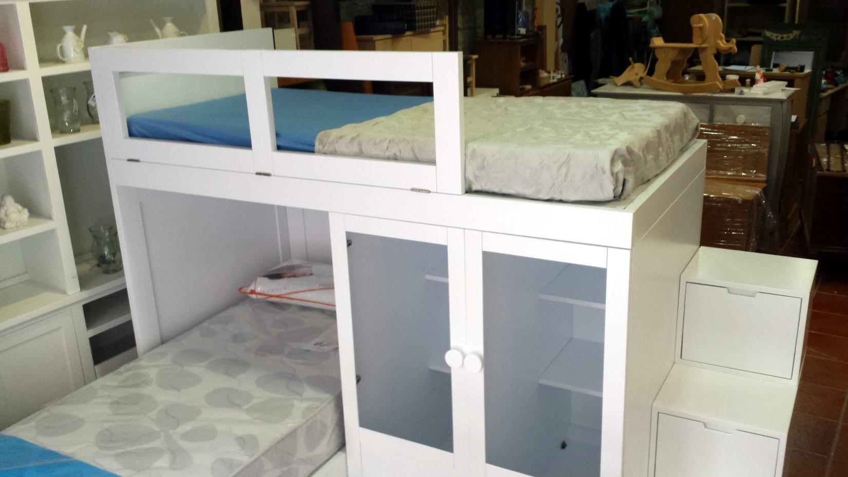Camas con cama debajo beautiful with camas con cama - Cama armario debajo ...